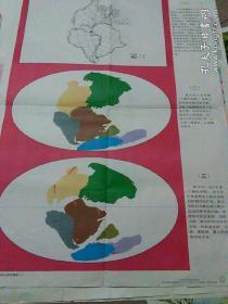 初级中学课本《世界地理教学挂图一》