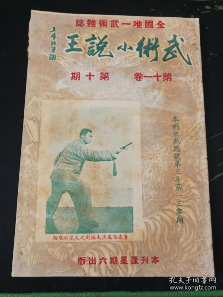 武术杂志:武术小说王 第十一卷  第十期