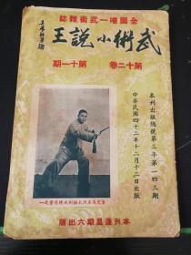 武术杂志:武术小说王  第十二卷 第十一期
