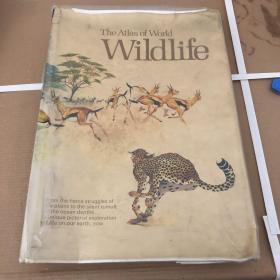 the atlas of world wildilife (世界野生动物地图集)顺丰包邮