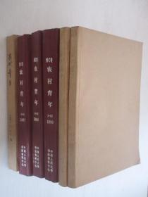 农村青年   1986-1990年共60期 6本合订本  详见描述
