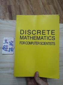 DISCRETE MATHEMATICS FOR COMPUTER SCIENTISTS 计算机科学家的离散数学