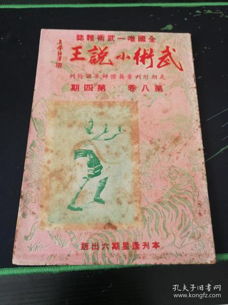 武术杂志:武术小说王 第八卷 第四期