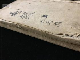 """古汉方抄本《秘录》存2册,个别药方后有""""元和四年""""纪年,相当于明万历年间,部分药方可能自南蛮国、高丽国传过去。写本医方涉中风、伤寒、饮食及妇科、儿科、癣癞等。未见同名和刻本或抄本"""