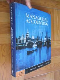 MANAGERAL ACCUNTING (third edition)      大16开,精装