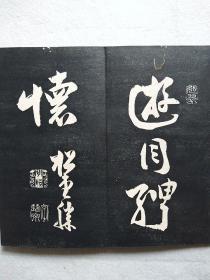 清旧拓本 27折54页 拓片经折装