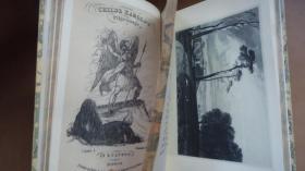 1814年Byron - Childe Harolds Pilgrimage 拜伦伟大长诗《恰尔德•哈罗德游记》极珍贵初版本 3册合订 3/4摩洛哥羊皮精装 配补插图 品上佳