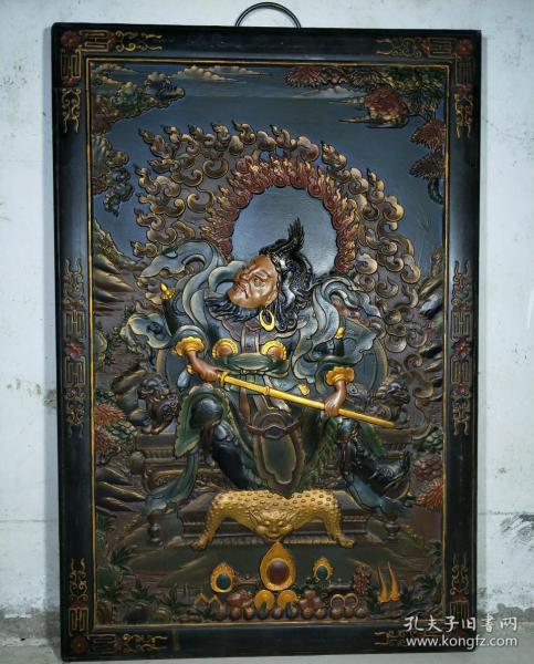漆器佛教唐卡