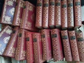 圣西蒙的回忆录【20卷全,稀缺罕见,完整和真实的纪念, 版画插图本,1965年出版】