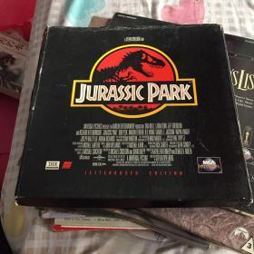 大光碟唱片3张《JURASSIC PARK》如图