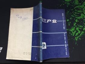 第三产业(日本问题丛书)(85年1版1印)