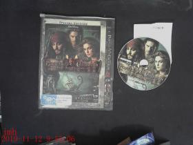 DVD碟片  加勒比海盗2之亡灵宝藏