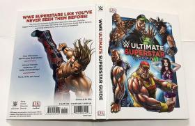 WWE Ultimate Superstar Guide   英文原版  精装  DK
