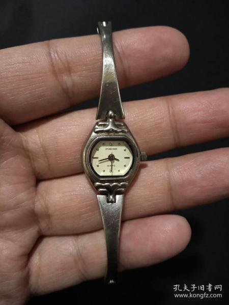 宝时捷POSCER(女式) 老电子石英手表(日本机芯)。   (当配件卖)