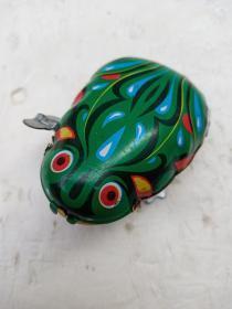 老铁皮青蛙玩具