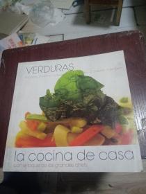 VERDURAS IA COCINA DE CASA 外文菜谱