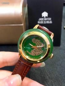 高档轻奢美物⌚️和田碧玉:老料菠菜绿手表;33m;43m表盘️日本进口机芯➕真皮表带;大厂出货可做情侣款;送礼首选送高级手表盒✔️自留百搭、身份的象征✅