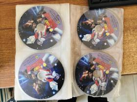 VCD 雷欧奥特曼12碟+新迪迦奥特曼9碟 +迪迦奥特曼26碟全 看实物图 光盘试过都能播放