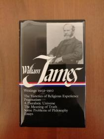 William James: Writings 1902-1910 (全新布面精装)