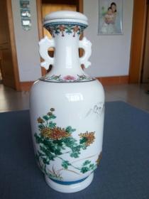 景德镇青花瓷花瓶