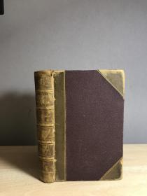 1885 curiosities of nature history 自然历史 半皮精装