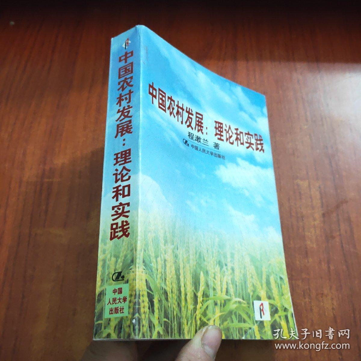 中国农村发展:理论和实践