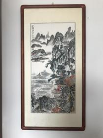 已故著名画家蒋孝游精品山水