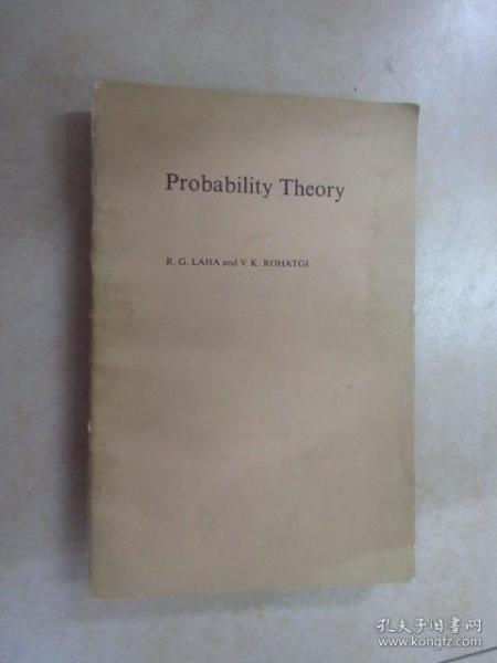 外文书  概率论(Probability  Theroy)   共557页