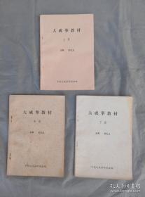 大成拳教材(三册)