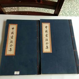 中国书法全集(祝允明卷二)(傅山卷二)两册合售