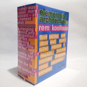 Elements Rem Koolhaas 建筑元素 库哈斯