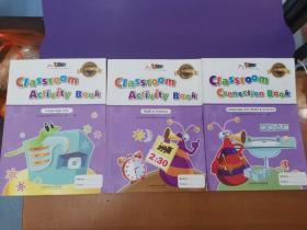 瑞思学科英语预备级课程.第二学期(欢乐家庭用书+课堂趣味语文练习册+课堂趣味数学和科学练习册)三册合售,也可单售