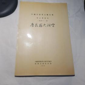 中国田野考古报告集(考古学专刊)