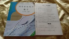 同步轻松练习 数学九年 上册(辽宁专版 配人教版)