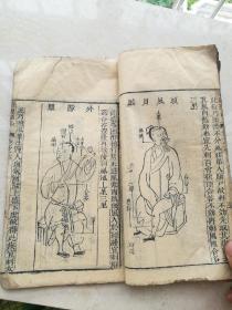 木刻,明版眼科书,审视瑶函五册