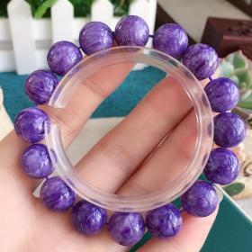 紫龙晶单圈1.2手串
