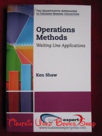 Operations Methods: Waiting Line Applications(英语原版 平装本)操作方法:排队应用程序