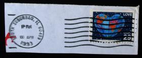 中外邮品------美国邮戳票6