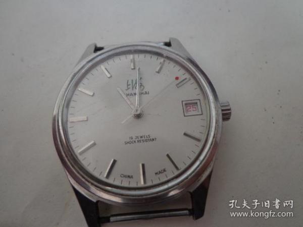 上海日历手表,走时