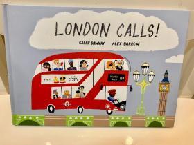 香港进口 跟着老奶奶和她的孙女一起去伦敦旅行吧! London Calls!