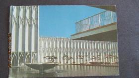 80年代 世界建筑艺术-华盛顿联邦科学院 实寄明信片