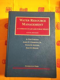 WATER RESOURCE MANAGEMENT 水资源管理