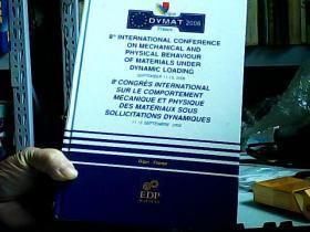 动荷载作用下材料力学物理行为国际会议2006年11-15日国际体育与体育大会