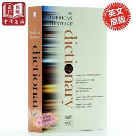 正版 英英字典 美国传统英语词典第五版 英文原版书 The American Heritage Dictionary 进口书籍 英文版书