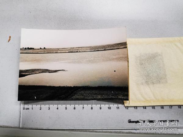 1957左右底片一张:蚌埠附近的淮河