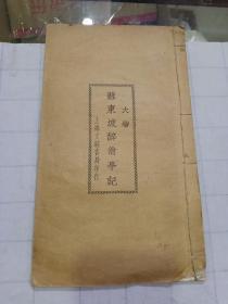 苏东坡醉翁亭记(民国字帖)