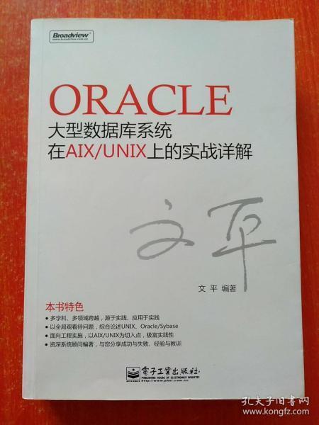 Oracle大型数据库系统在AIX/UNIX上的实战详解