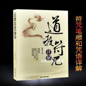 民间道教符咒详解道家灵符咒语大全画符基础入门教学指南符咒全书