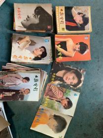 大众电影1979存1-6,82年存第11,83年1-8,10-12,84年1-12,85年1-12.86年1-6,8-12,87年1-12,88年存第11.共66期