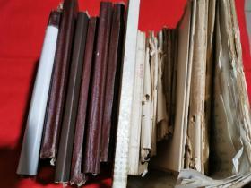 安徽医科大学教研室教授、主任医师 蔡天沛1979年肾脏病手稿笔记  笔记本全部写满。